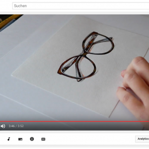 Realistic Speed Painting: Glasses