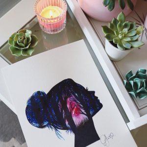 Handgezeichnete Bilder